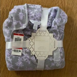 Fleece long sleeve pajama set